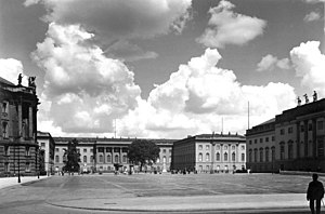 The University in 1938.
