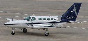 Cape Air Cessna 402 at SRQ