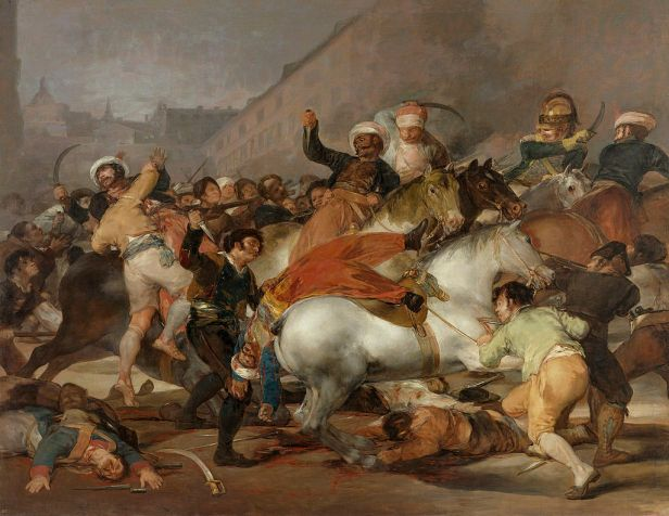 The Second of May 1808 - The Charge of the Mamelukes by Francisco de Goya