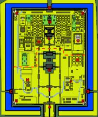 Plan of the Forbidden City. Self created via I...