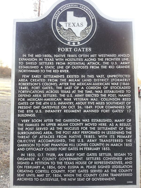 Historical Markers Texas Fort