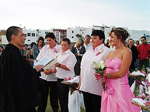 Two women getting married at Langebaan, South ...