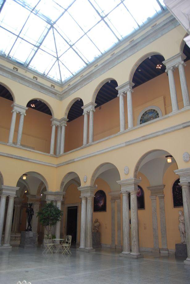 Interior Walters Art Museum