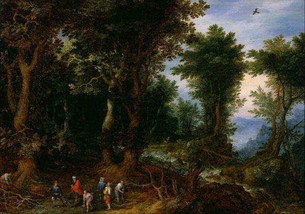 File Jan Brueghel Elder - Wooded Landscape With