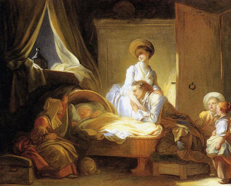 Ficheiro:Jean-Honoré Fragonard - Visite à la nourrice.jpg