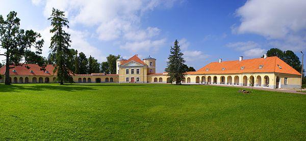 Kiltsi mõisa peahoone. Lääne-Virumaa. 2011.