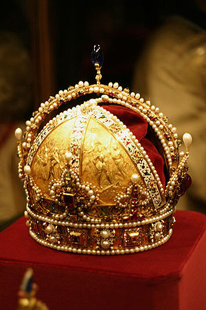 The Crown of Rudolf II later became the imperi...