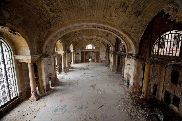 Michigan Central Train Station Interior 2009