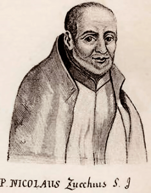 English: Niccolò Zucchi (December 6, 1586 – Ma...