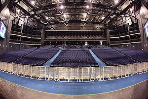 The Nokia Theatre, Los Angeles - view of the h...