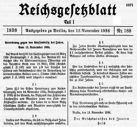 Картинки по запросу gun laws in nazi germany