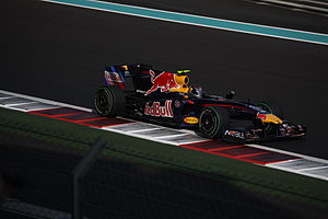 Sebastian Vettel Red Bull RB5 on Saturday at 2...