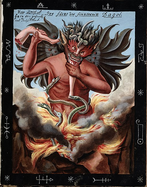 the fire demon the