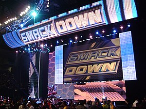 English: WWE Smackdown Hi-Definition Stage