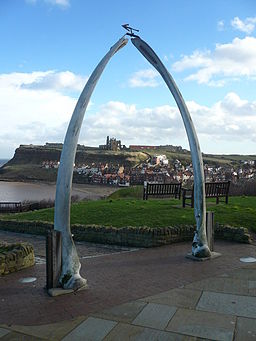 Whitby - Whalebone Arch and View - geograph.org.uk - 679544