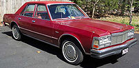 1977 Dodge Diplomat sedan