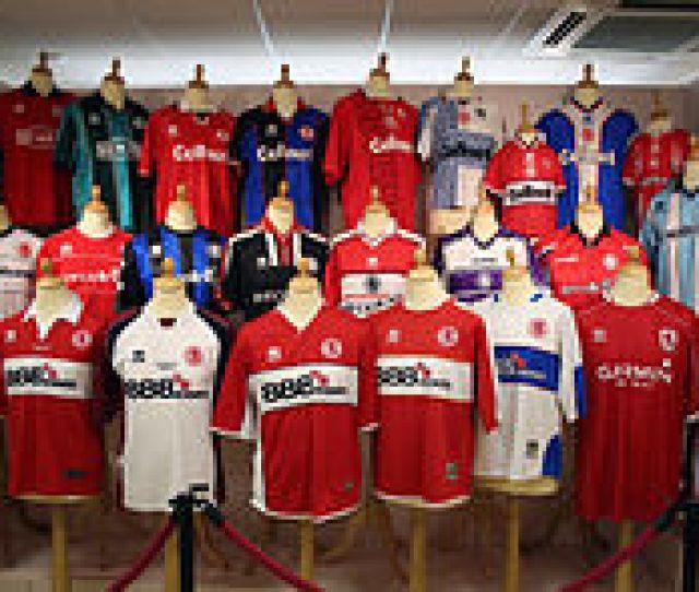 Middlesbrough Shirts 1994 2010