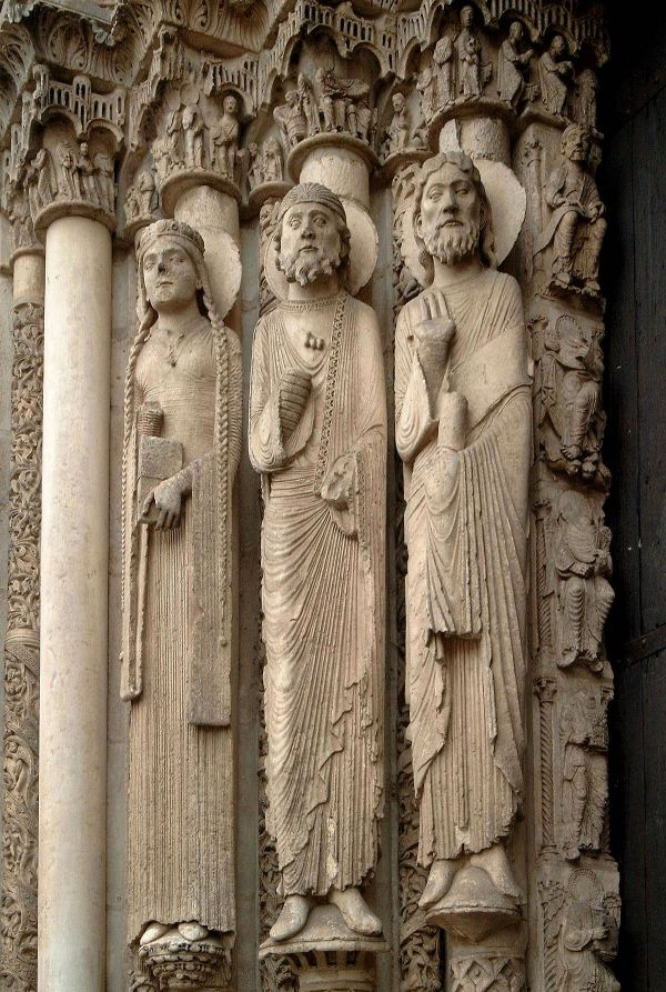 Medieval Gothic Art Sculptures