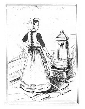 Costume donna soveritana