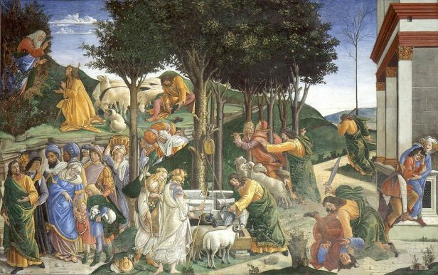 """Adoration of the Magi"" by Botticelli"
