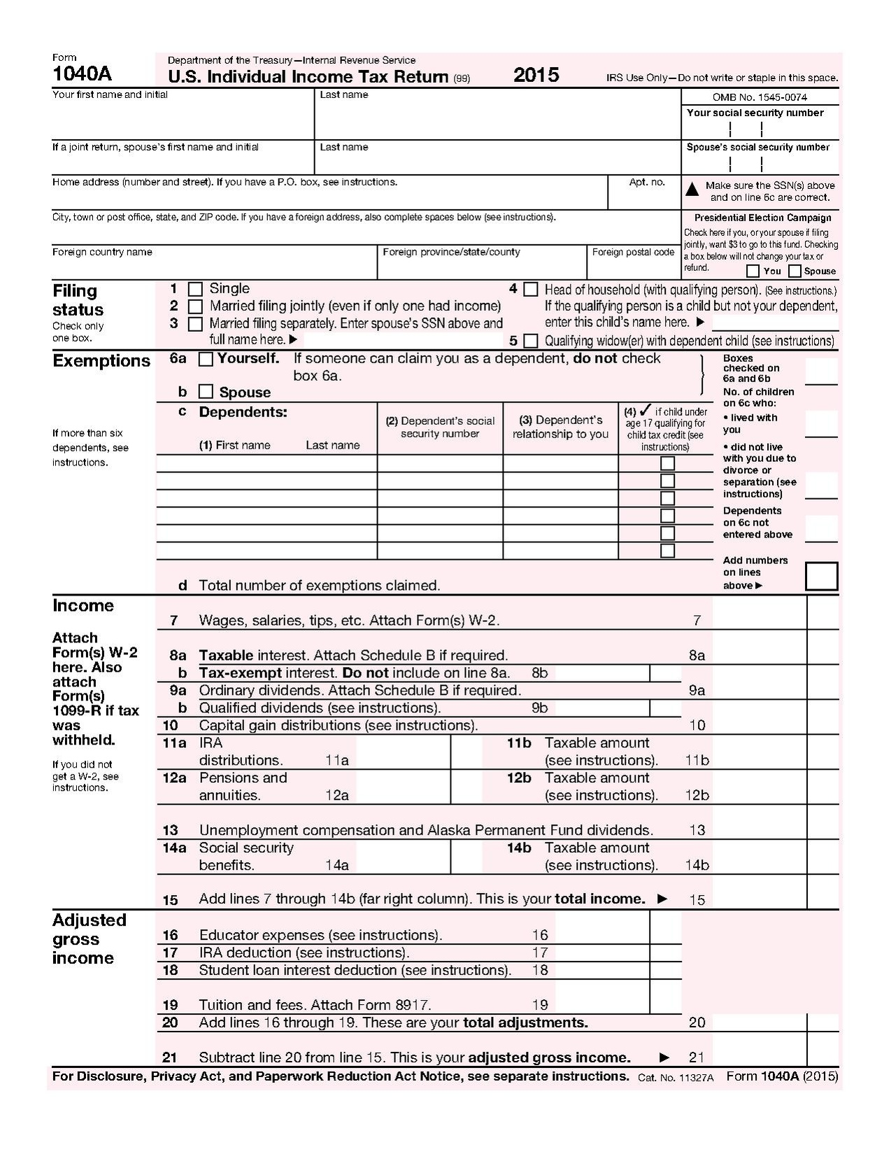 Taxes Form Print Social Security Benefit