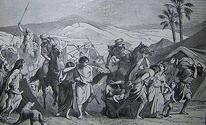 Israelites Carried Captive, illustration from ...