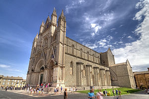 English: Italy Duomo di Orvieto Cathedral