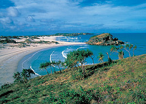 Cape Arnhem is the extreme eastern tip of Arnh...
