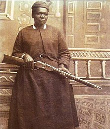 Mary Fields, first African American postal carrier