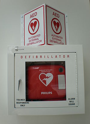 A Philips Automated External Defibrillator in ...