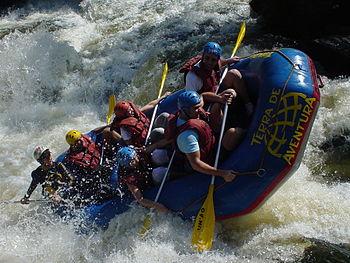 Rafting - Jacaré Pepira River, Brotas, São Pau...
