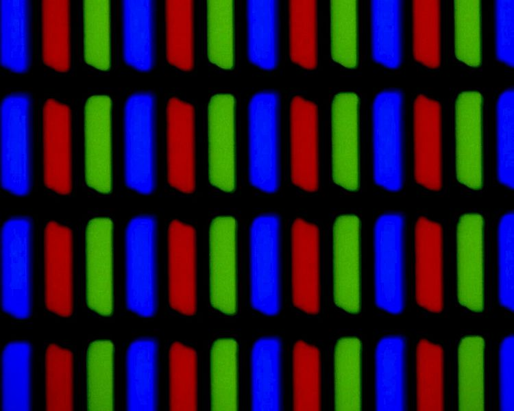 Magnification of an LCD screen