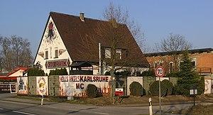 Deutsch: Clubhaus der Hells Angels Karlsruhe i...