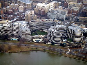 English: A photo of the Watergate Complex take...