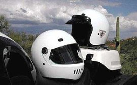 300px White helmets - NY and PA Motorcycle Lawyer: Is Your Motorcycle Helmet Ready To Ride?