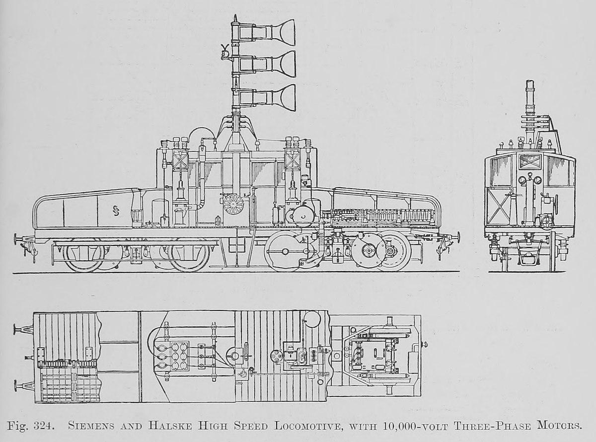 File:324. Siemens and Halske High-speed Locomotive, with