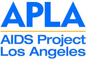 English: AIDS Project Los Angeles color logo