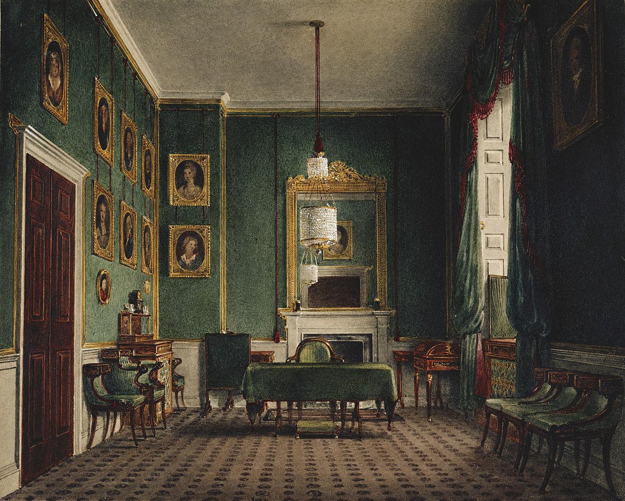 FileBuckingham Palace Green Closet by James Stephanoff