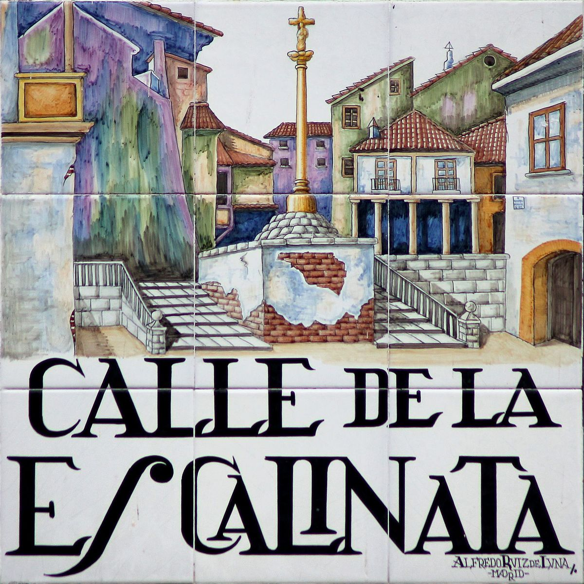Calle de la Escalinata  Wikipedia la enciclopedia libre