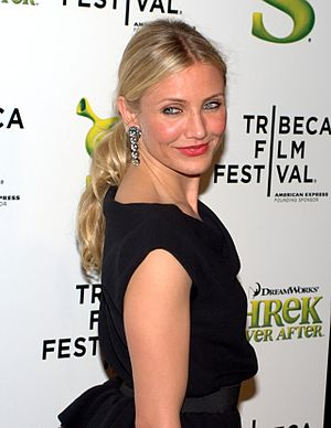 English: Cameron Diaz at 2010 Tribeca Film Fes...