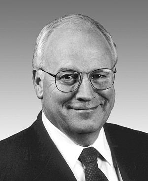 Dick Cheney, Vice President of the United States