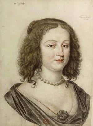 Dumonstier - Françoise Marguerite de Chivré