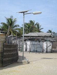 Lampadaire solaire  Wikipdia