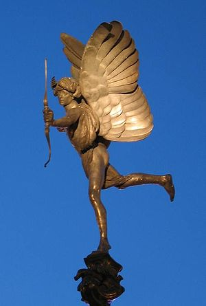 Anteros by Alfred Gilbert, 1885; from the Shaf...