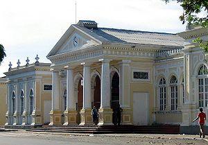 Fachada da Estação Ferroviária de Fortaleza Jo...
