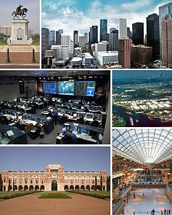 Hình nền trời của City of Houston