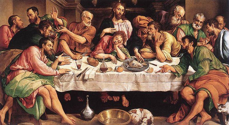 Datei:Jacopo Bassano Last Supper 1542.jpeg