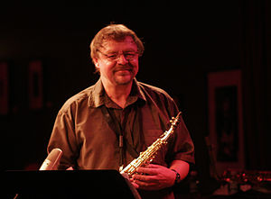 John Surman-- Birdland; September 2, 2009 Phot...