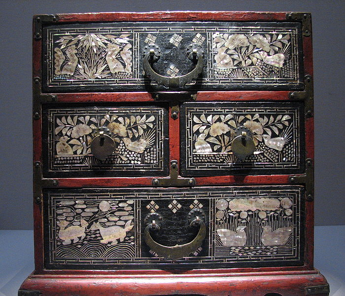 File:Korea-Joseon-Lacquer drawer-01.jpg