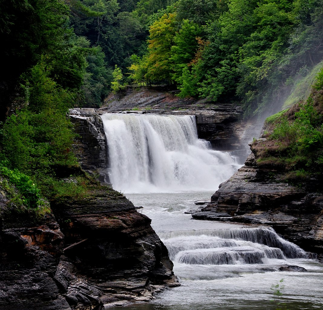 FileLower Falls at Letchworth State Park New York USA